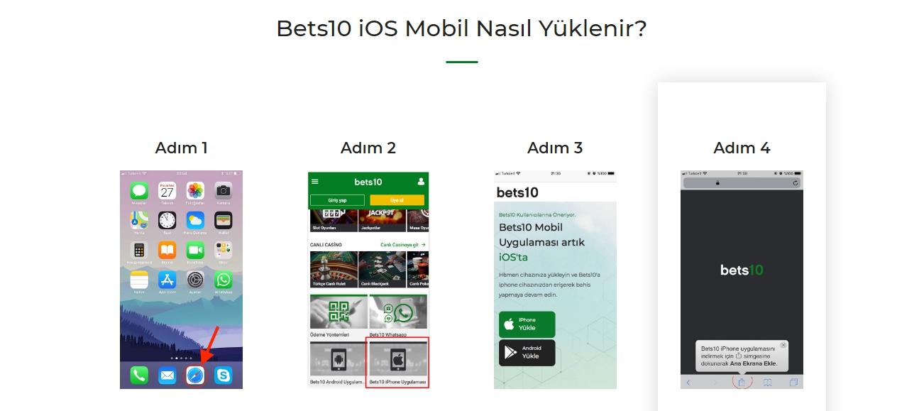 Bets10 İos